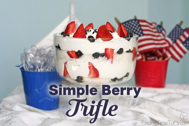 Simple Berry Trifle