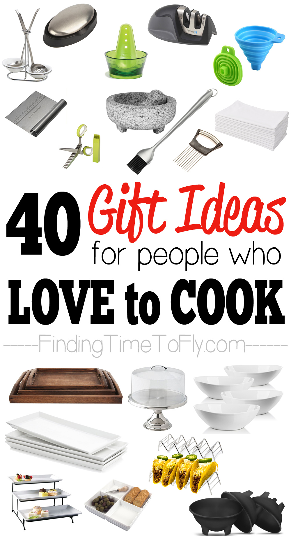 40 kitchen gifts and gadgets - finding time to fly