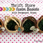 Easter Baskets & No Dye Eggs – Our Favorites