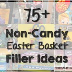 75+ non candy Easter Basket Ideas