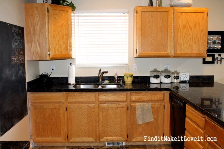 Painted kitchen cabinets DIY (1)