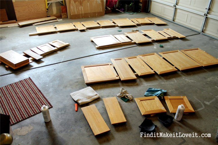 Painted kitchen cabinets DIY (13)