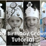 DIY Birthday Crown Tutorial