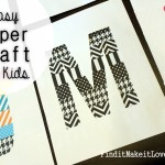 Easy Paper Craft for Kids