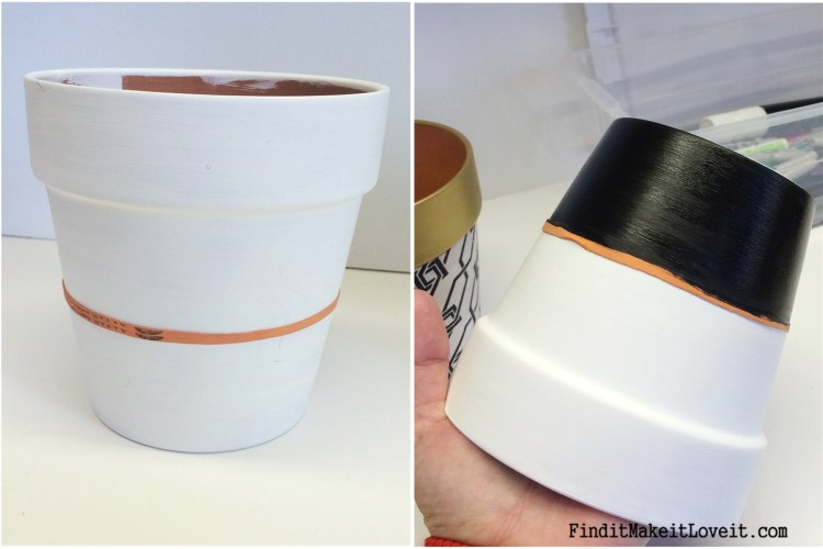 Upcycled Dollar Store Pots (18)