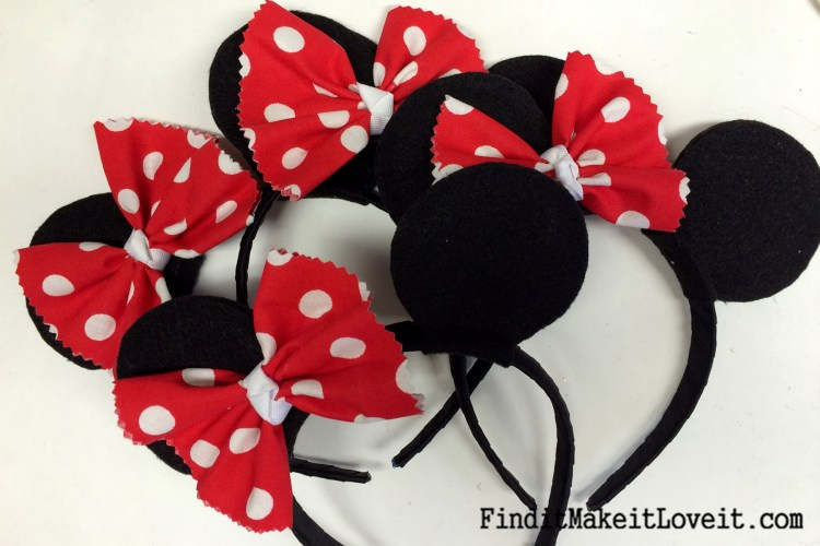 DIY Mickey or Minnie Mouse Ears (1)