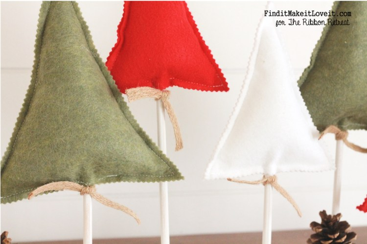 Cute Christmas Felt trees