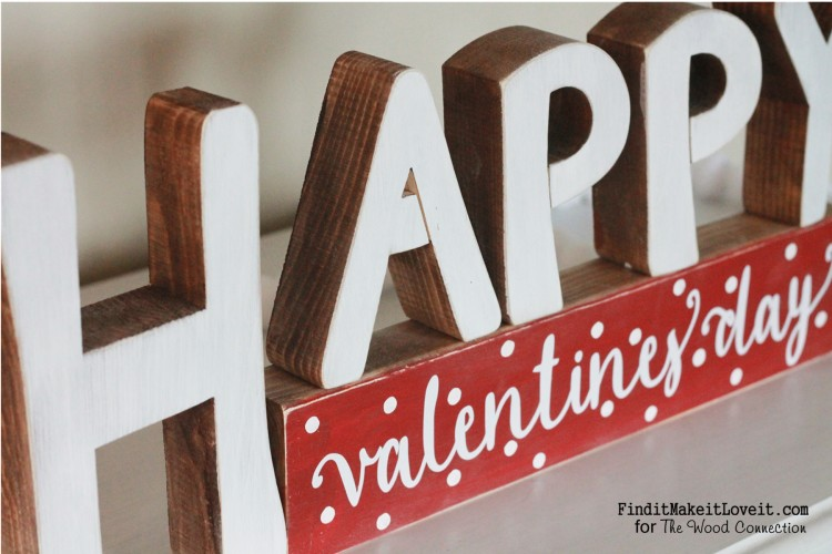 CUTE Reversible Sign, Happy Valentine's day on one side, Happy Birthday on the other side. A perfect way to make the most of a craft project!