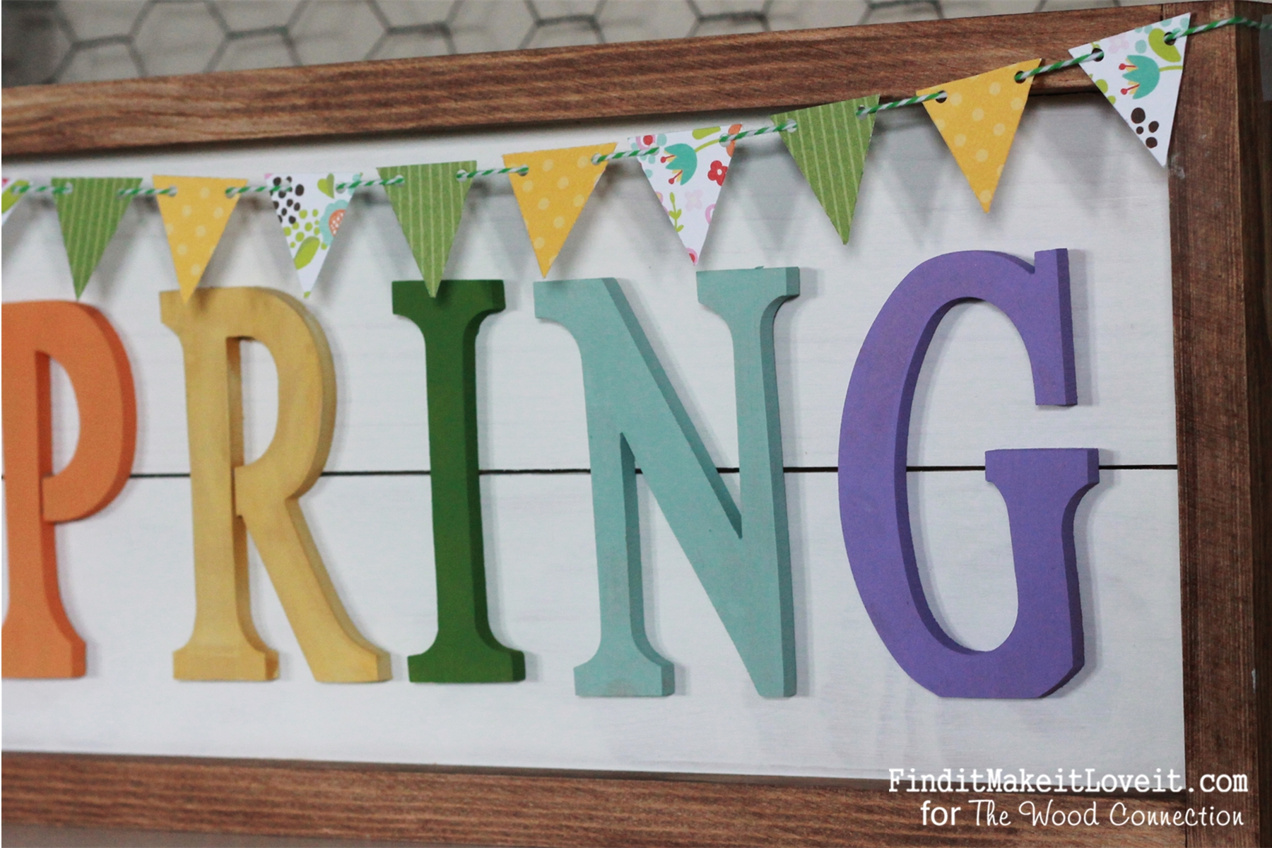 Framed Plank Spring sign (3)