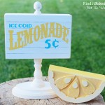 Lemonade Block Sign