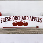 DIY Apple Orchard Sign