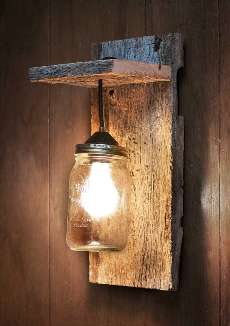 Wood wall sconce on Wood Wall Sconces id=74082