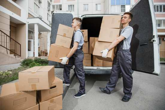 hiring a moving company