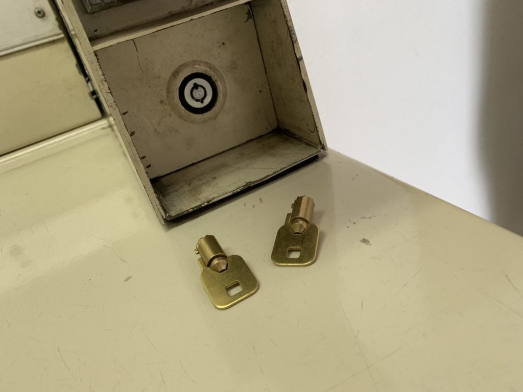 lost laundry machine key what to do