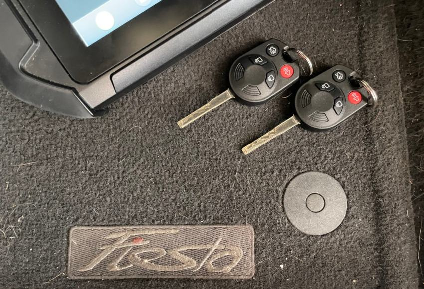 ford fiesta key replacement near me price