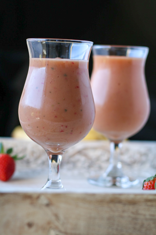 papaya ginger smoothie