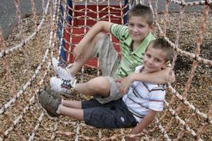 Outdoor Play Area at Hoburne Doublebois - Hoburne Doublebois Holiday Park