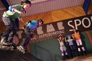 Roller Blading at Blue Dolphin - Blue Dolphin Holiday Park