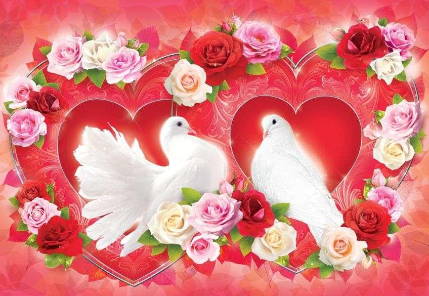 Открытка свадебная голубки, открытки папиному день