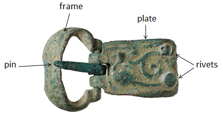 The components of a buckle (BH-46E5F7)