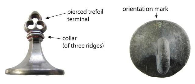 Parts of a conical seal matrix