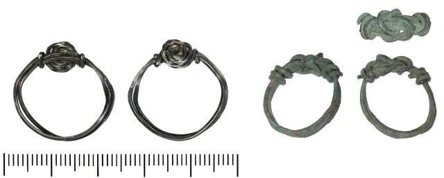 Modern finger-rings (DENO-470362 and DENO-A15253)
