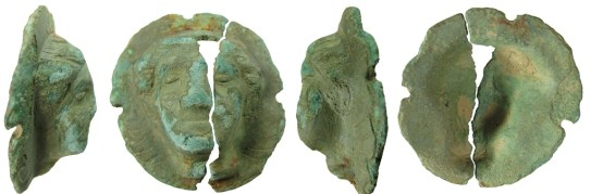 Roman copper alloy phalera