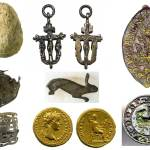 Image of 7 finds related to Easter.