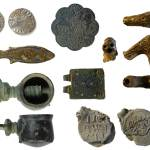 Image of seven archaeological finds from Norfolk.
