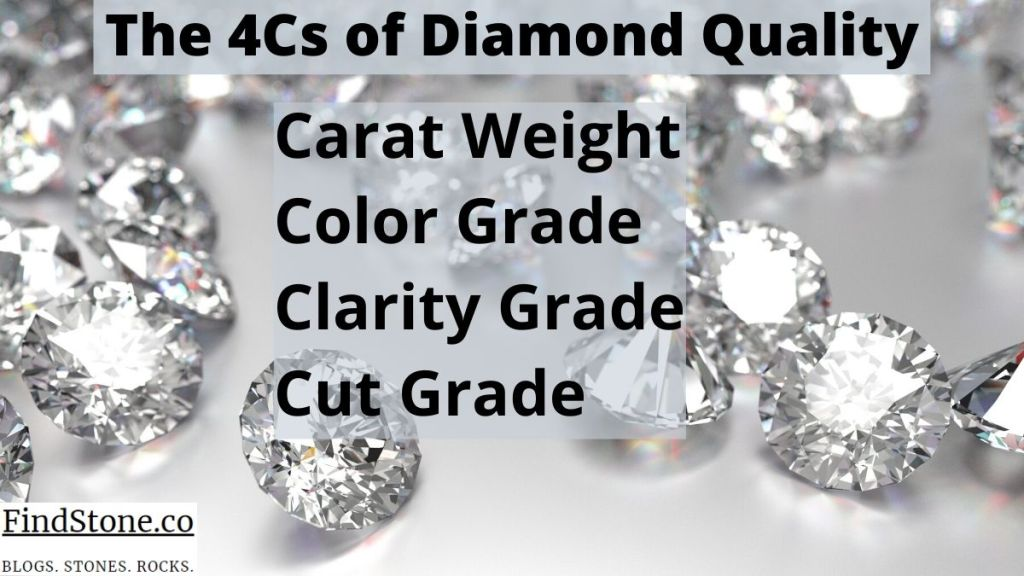 Diamonds and their Industry - The 4Cs of diamond quality - findstone.co
