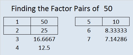 Factors Of 50 Find The Factors Mathematics · 1 decade ago. factors of 50 find the factors