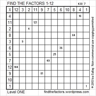 2014-30 Level 1 Factors