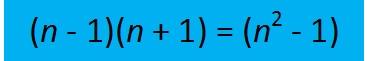 (n-1)(n+1)