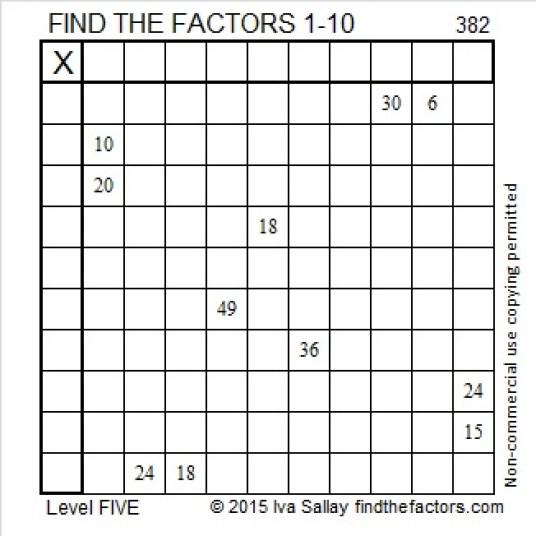 382 Puzzle