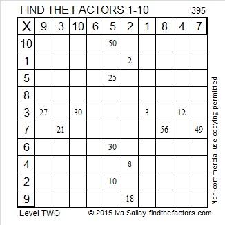 395 Factors