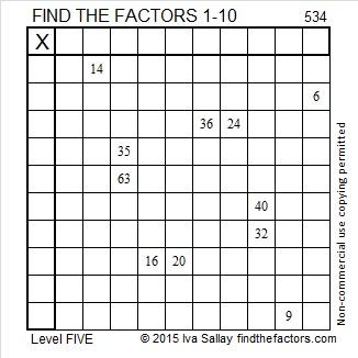 534 Puzzle
