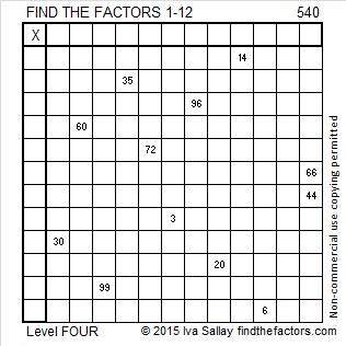 540 Puzzle