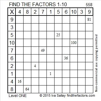 558 Factors