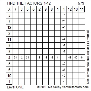 579 Factors