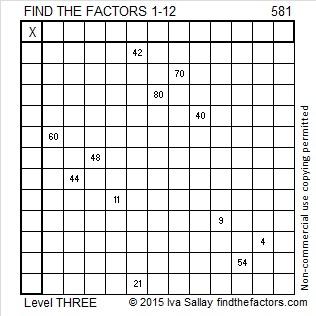 581 Puzzle