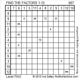 667 Factors