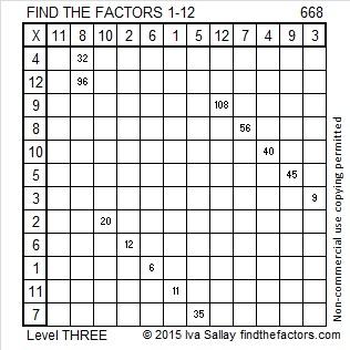 668 Factors