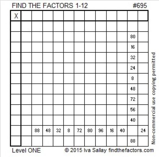 695 Puzzle