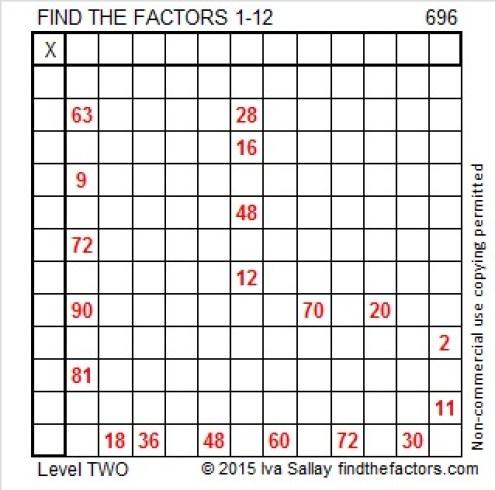 696 Puzzle