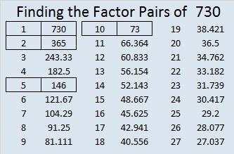 730-factor-pairs