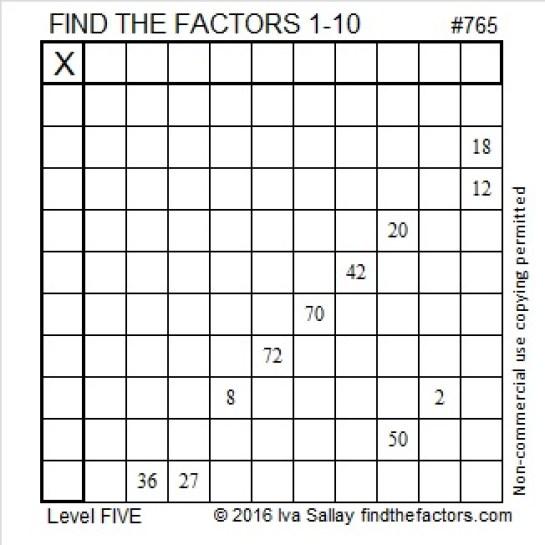 765 Puzzle