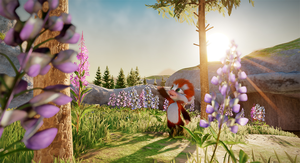 September 2020 indie game release - Monkey from Tamarin marvelling at the world