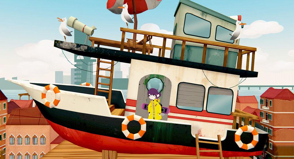 Nova's house boat in Venice 2089