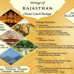 Heritage Of Rajasthan – Charter Coach Package Tour by IRCTC