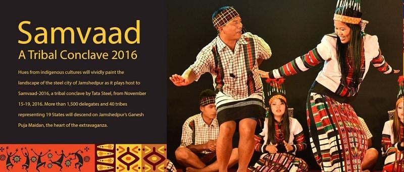 Samvaad - A Tribal Conclave 2016 by Tata Steel